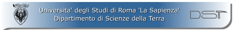 Dipartimento di Scienze della Terra - Università La Sapienza di Roma
